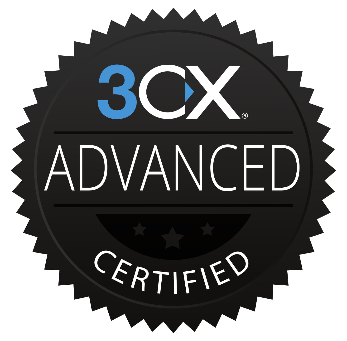 3CX Advanced Certified Badge